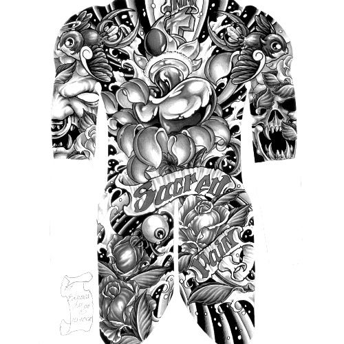 Wzór Tatuażu Plecy Monika Wypożyczalnia Sprzętu